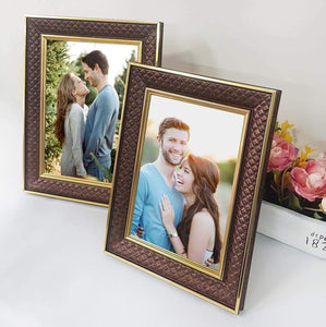 Set of 2 Table Top Photo Frames Perfect For Home & Office Table Decorations 2 Units Of 5 x 7