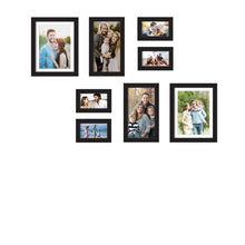 Load image into Gallery viewer, Premium Photo Frames For Wall, Living Room & Gifting - Set Of 8