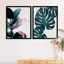 Load image into Gallery viewer, Art Street Set Of 2 Tropical Matte Art Print, Framed Art Print For Home Decor