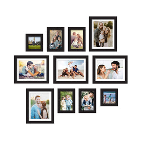 Premium Photo Frames For Wall, Living Room & Gifting - Set Of 11