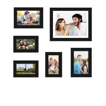 Load image into Gallery viewer, Set Of 6 Wall Photo Frame, For Home Decor With Free Hanging Accessories