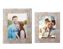Load image into Gallery viewer, Set Of 2 Distressed Table Photo Frame For Office & Home Decor