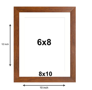 Set Of 2 Table Top Photo Frames Perfect For Home & Office Table Decorations 2 Units Of 8 x 10