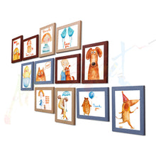 Load image into Gallery viewer, Painting Mantra Acrylic Vibrant Wall Photo Frame (90 cm x 80 cm x 2 cm, Set Of 12)