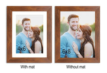 Load image into Gallery viewer, Set Of 2 Table Top Photo Frames Perfect For Home & Office Table Decorations 2 Units Of 6 x 8