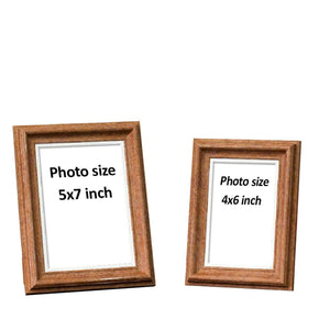 Customize Table Photo Frame For Office & Home Desk Decor Set Of - 2