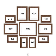 Load image into Gallery viewer, Set Of 11 Wall Photo Frame, For Home Decor With Free Hanging Accessories