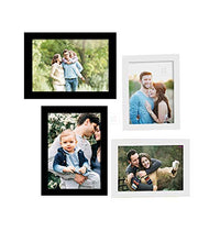 Load image into Gallery viewer, Art Street Set Of 4 Black & White Wooden Wall Photo Frame, Picture Frame For Home Decor