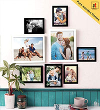 Load image into Gallery viewer, Art Street Set Of 8 Black & White Wooden Wall Photo Frame, Picture Frame for Home Decor