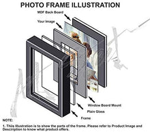 Load image into Gallery viewer, Simple Impressive Drop Chain Photo Frame Set Of 2