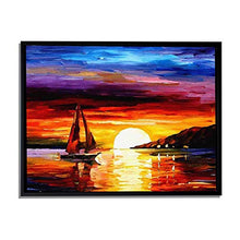 Load image into Gallery viewer, Nature Reflections Art Print, Landscape Canvas Painting
