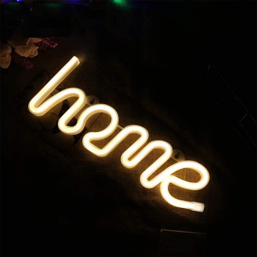 Home Shaped Battery Night Light For Home Decor, Color - Warm White
