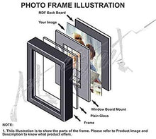 Load image into Gallery viewer, Love Infinite Individual Wall Photo Frame+2 MDF Plaque (Arrow & Love).