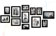 Load image into Gallery viewer, Glass Basic Black Individual Photo Frame Set