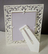 Load image into Gallery viewer, Set Of 2 Decoralicious White Heart Table Photo Frame For Home Decor