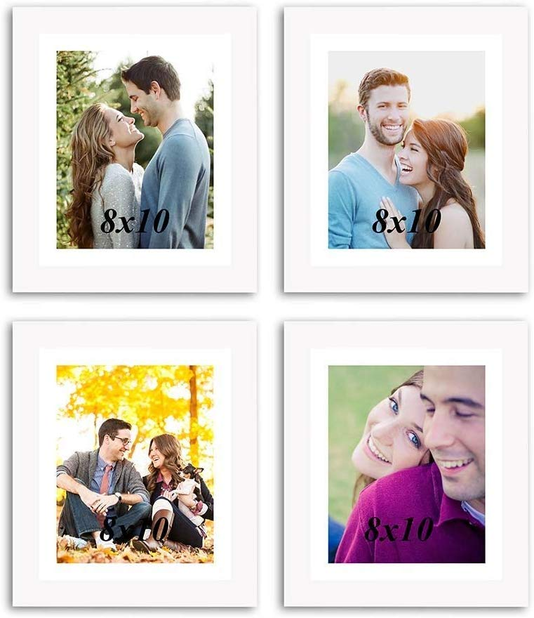 Individual White Wall Photo Frames Wall Decor Set