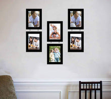 Load image into Gallery viewer, Elegant Drop Chain Synthetic Photo Frame Set Of 6