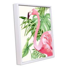 Load image into Gallery viewer, Flamingo Framed Canvas Art Print