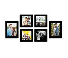 Load image into Gallery viewer, Decorous Wall Photo Frame - Set of 6 Individual Photo Frames