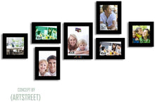 Load image into Gallery viewer, Hep-Tad Wood Wall Photo Frame Set
