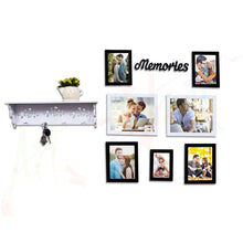 Load image into Gallery viewer, Home Memories Set of 7 Individual Photo Frame Frame Black and White