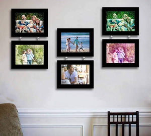 Synthetic Drop Chain Photo Frame Set Of 6