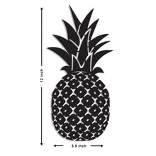 Load image into Gallery viewer, Art Street Pineapple MDF Plaque Painted Cutout Ready to Hang Home Décor Wall Art