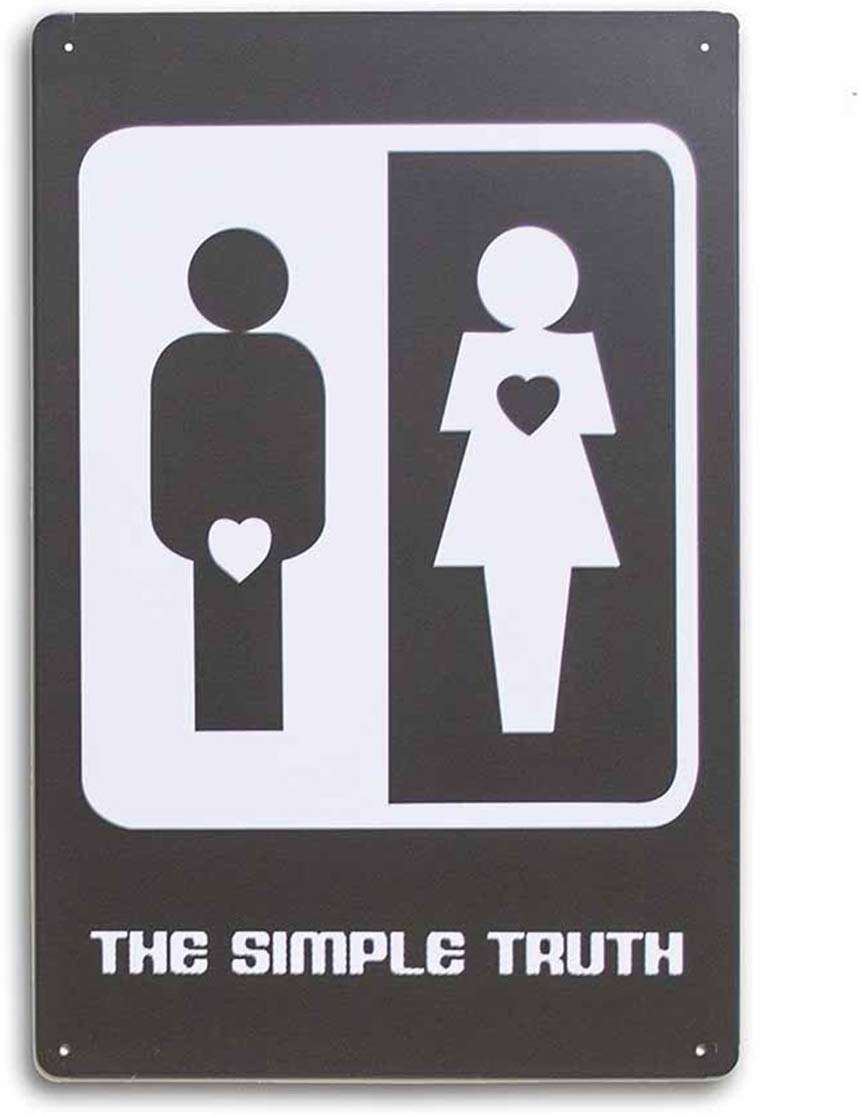 Metal Tin Sign # The Simple Truth