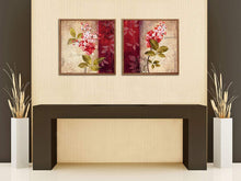 Load image into Gallery viewer, Floral Print Framed Canvas Painting