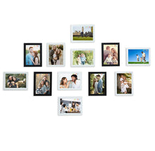 Load image into Gallery viewer, 12 Individual Black & White Wall Photo Frames Wall Decor Set