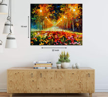 Load image into Gallery viewer, Art Street Modern Impressionism Art Print,Landscape Canvas Painting