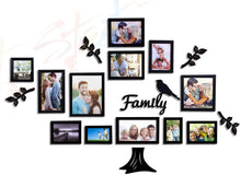 Load image into Gallery viewer, Family Tree Individual Wall Photo Frame With MDF Plaque