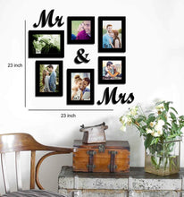 Load image into Gallery viewer, Together Forever Individual Wall Photo Frames With Mr & Mrs MDF Plaque