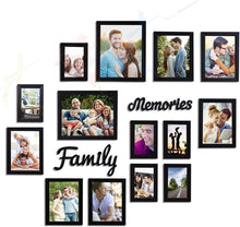 Load image into Gallery viewer, Beautiful Family Memories Individual Wall Photo Frame Set With MDF Plaque