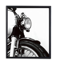 Load image into Gallery viewer, Bike Theme Art Print with Frame Black & White