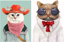 Load image into Gallery viewer, Animal Theme  Cat & Dog 2 Poster Set For Kids Room