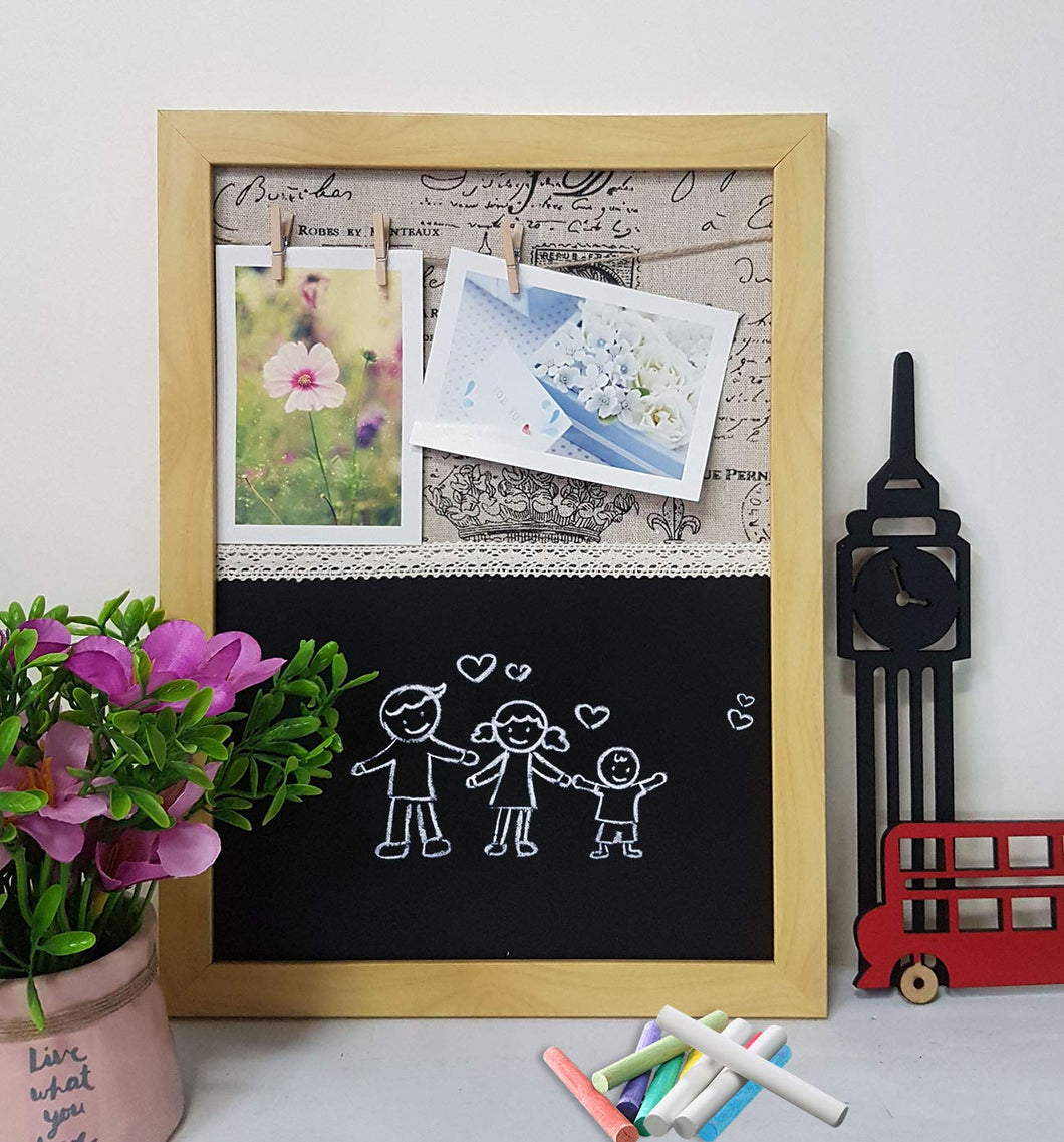 Chalk Board - To Do List Board & Hanging Photos With Clip