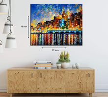 Load image into Gallery viewer, Art Street Stunning Nightfall Art Print,Landscape Canvas Painting