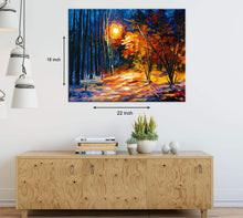 Load image into Gallery viewer, Art Street Nature in Classic Form Art Print,Landscape Canvas Painting