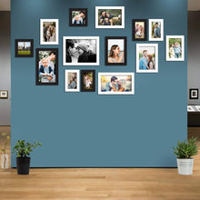 Load image into Gallery viewer, Atlantis Black and White Collage Wall Photo Frames Set