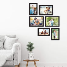 Load image into Gallery viewer, Classy Memory Wall Photo Frame. - Set of 6 Photo Frame