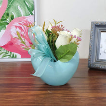 Load image into Gallery viewer, Artificial Flowers/Plants/White Rose Flower in Ceramic Pot/Planter for Home, Garden Decor Decoration