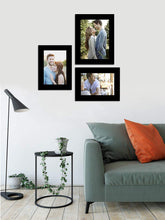 Load image into Gallery viewer, Fiber Wood Wall Photo Frame Set