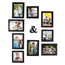 Load image into Gallery viewer, Wall Photo Frame Set Of 9