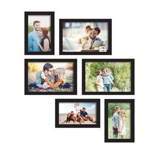 Classy Memory Wall Photo Frame. - Set of 6 Photo Frame