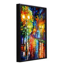 Load image into Gallery viewer, Beautiful Rainy Street Theme 1 Framed Canvas