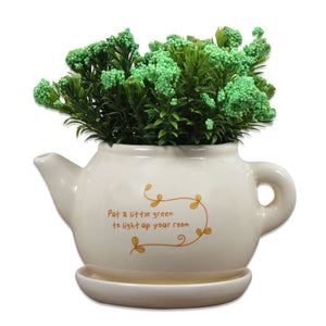 Ceramic Artificial Plant for Indoor/Outdoor, Home & Office