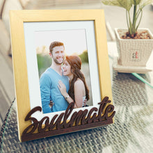 Load image into Gallery viewer, Soul Mate Customize Table Photo Frame For Valentine Day Photo Gift / Love Gift