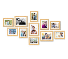 Load image into Gallery viewer, Boulevard Set of 11 Individual Photo Frames/Wall Decor
