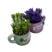 Load image into Gallery viewer, Ceramic Artificial Plant for Indoor/Outdoor, Home & Office,